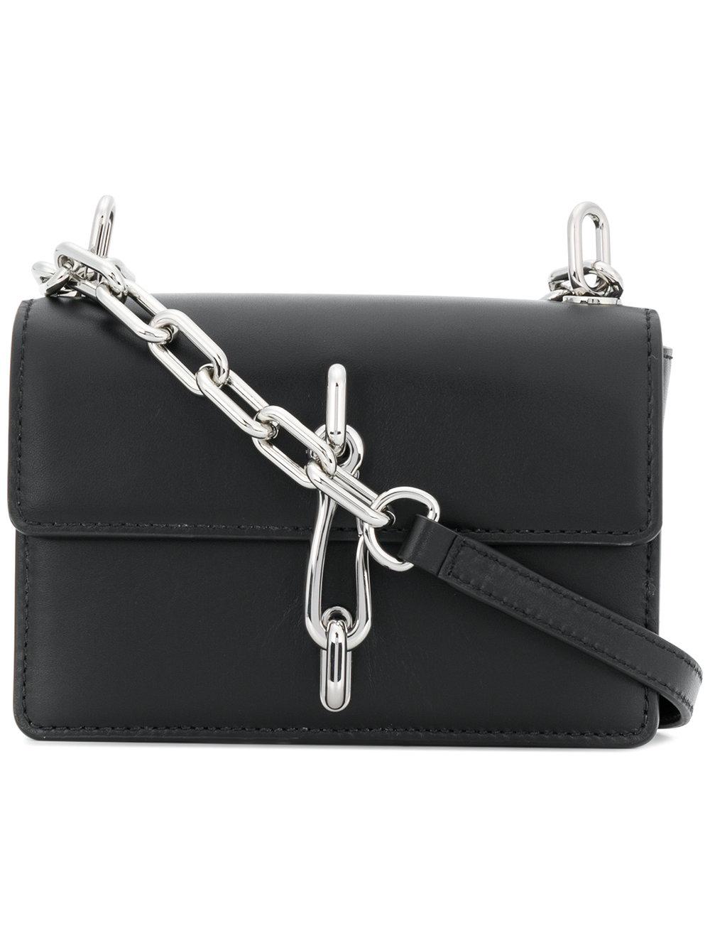 Alexander Wang   Hook Purse Black Leather