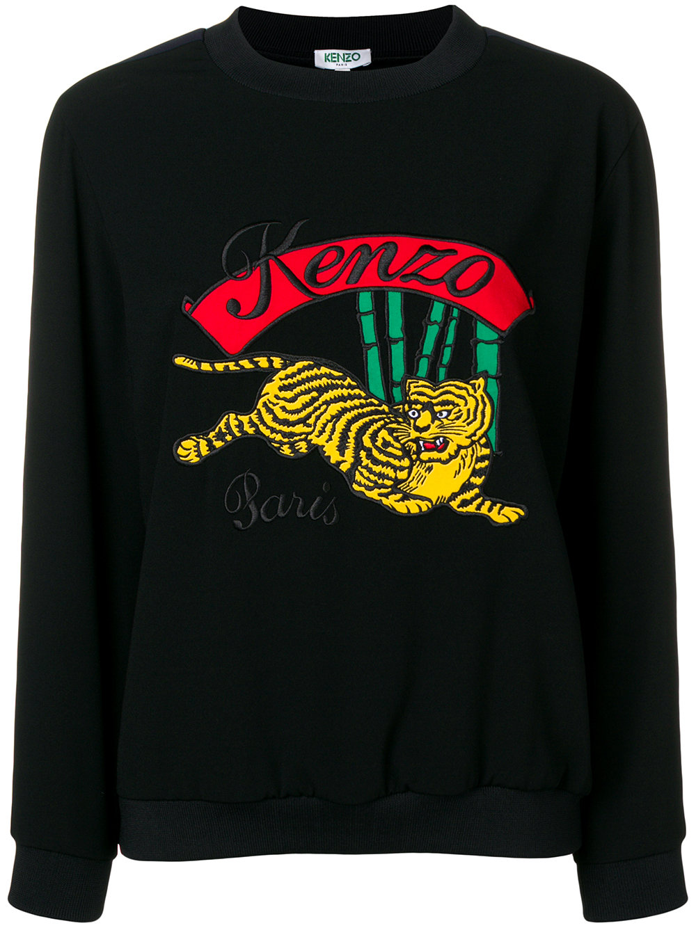 Kenzo   Tiger Embroidered Pullover