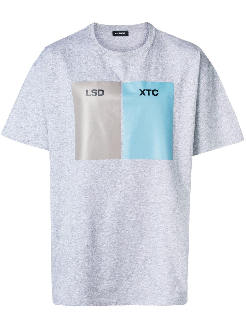 Raf Simons   LSD XTC Grey T-Shirt