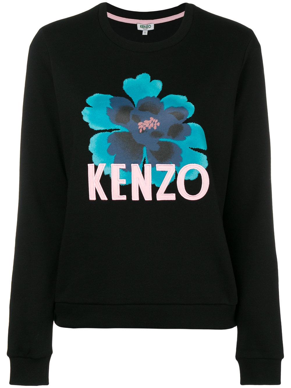Kenzo   Floral Printed Sweatshirt