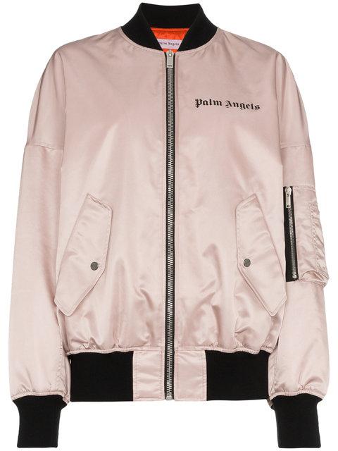 Palm Angels   Pink Bomber Jacket