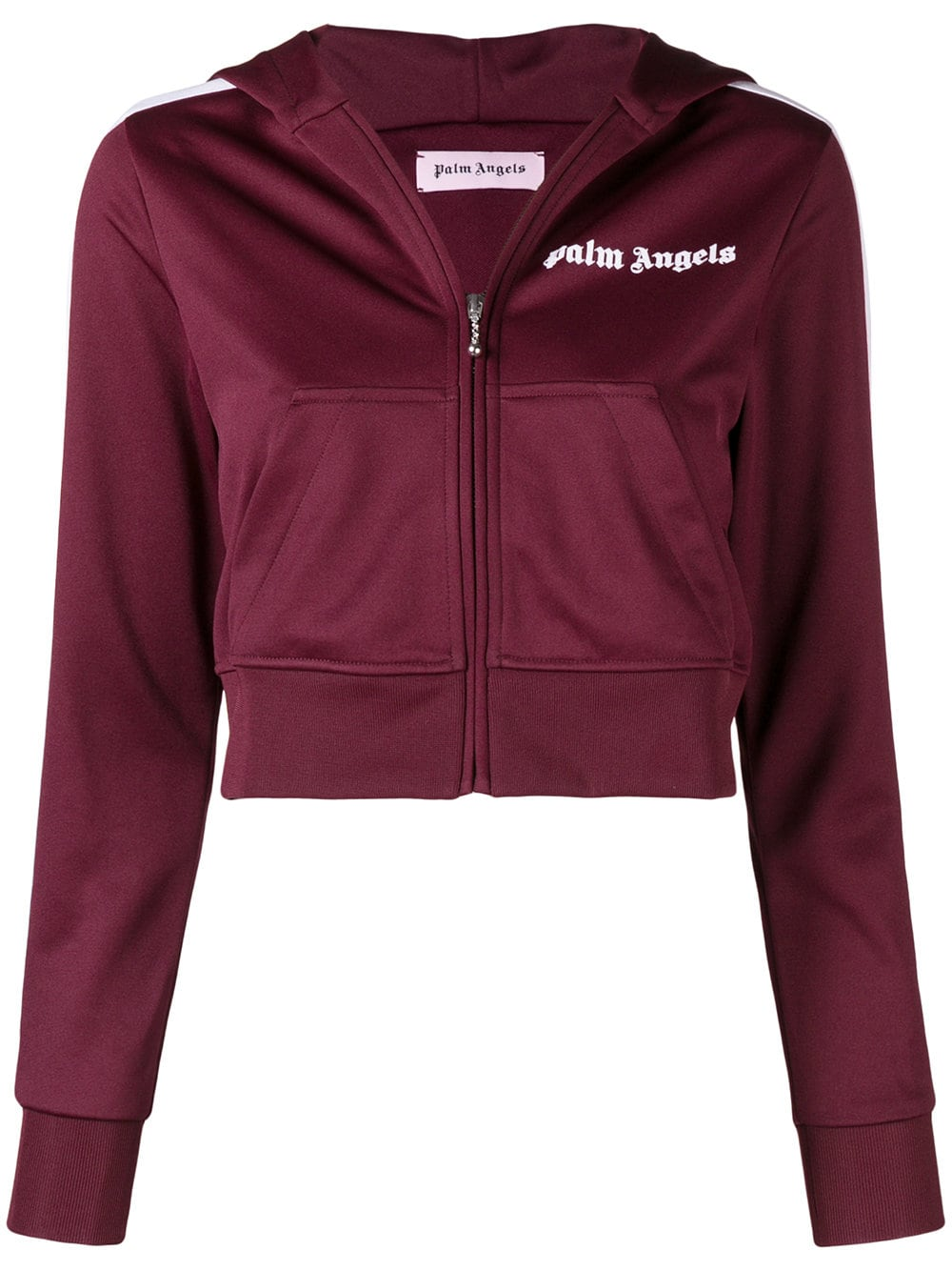 Palm Angels   Cropped Zip Jacket