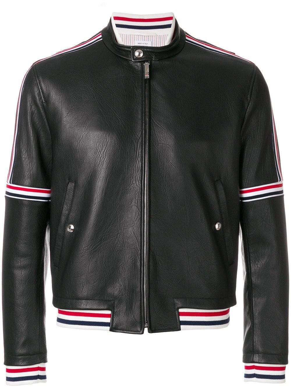 Thom Browne   Leather Jacket