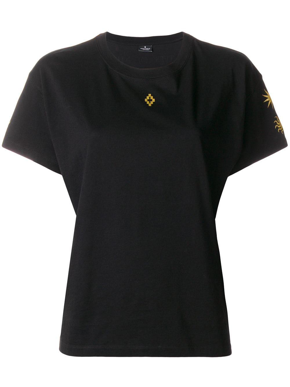 Marcelo Burlon County of Milan   Yellow Detail Shirt