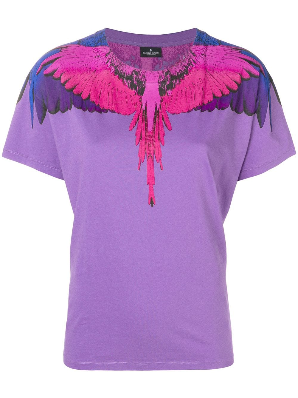 Marcelo Burlon County of Milan   Purple Wing Shirt