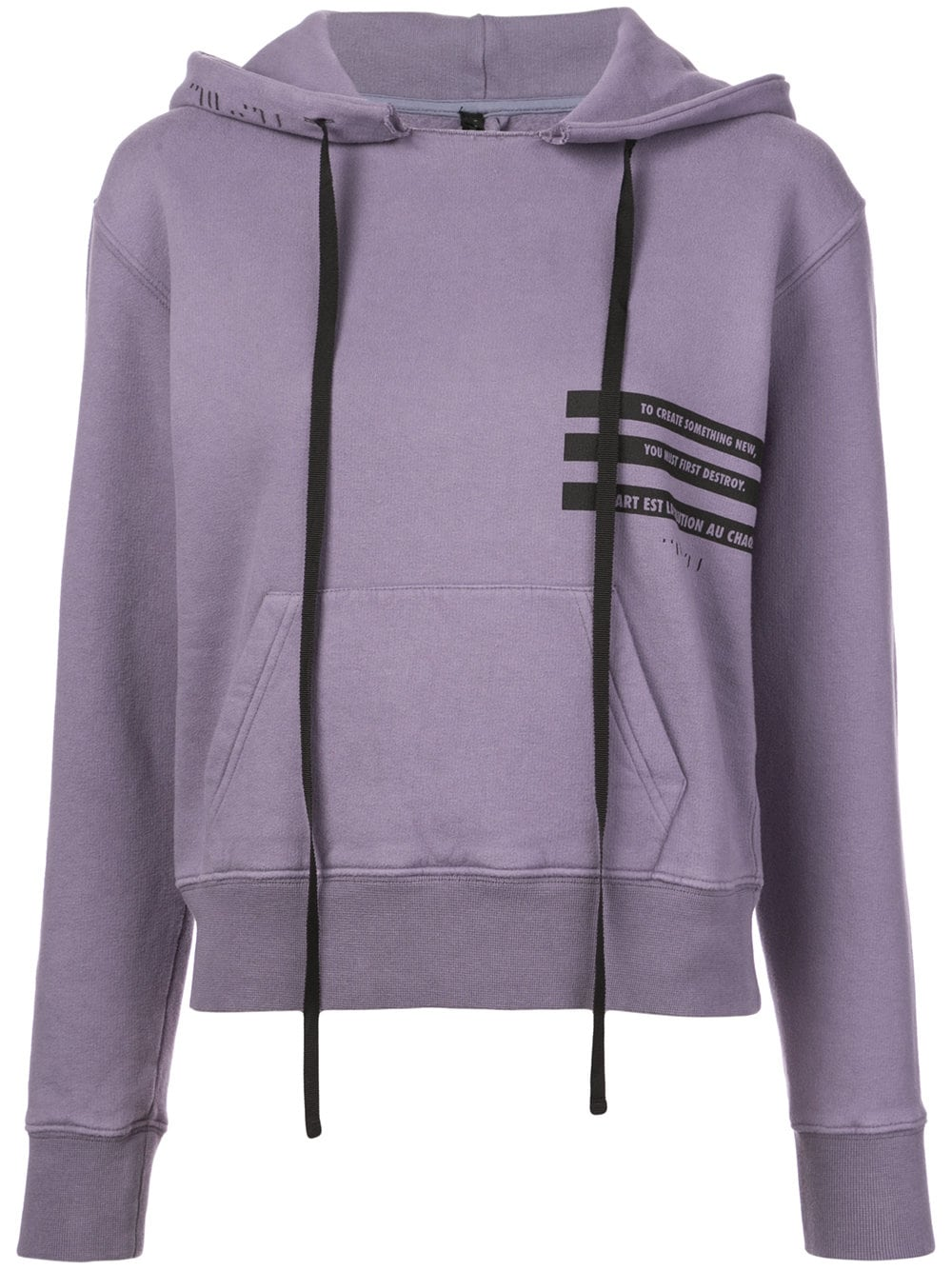 Unravel Project   Purple Hoodie