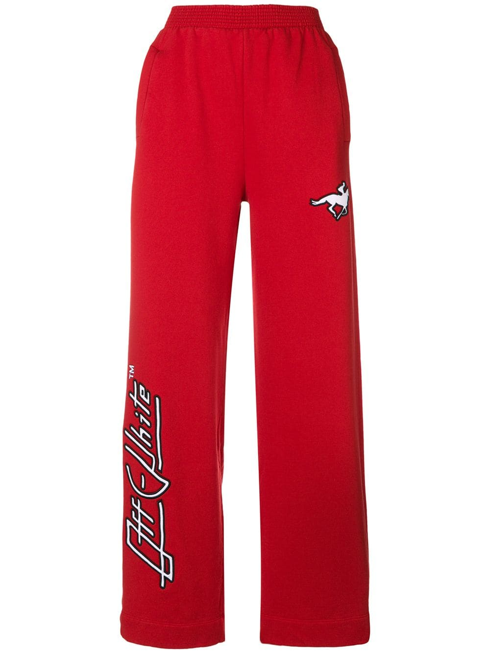 Off-White   High Waist Red Pant
