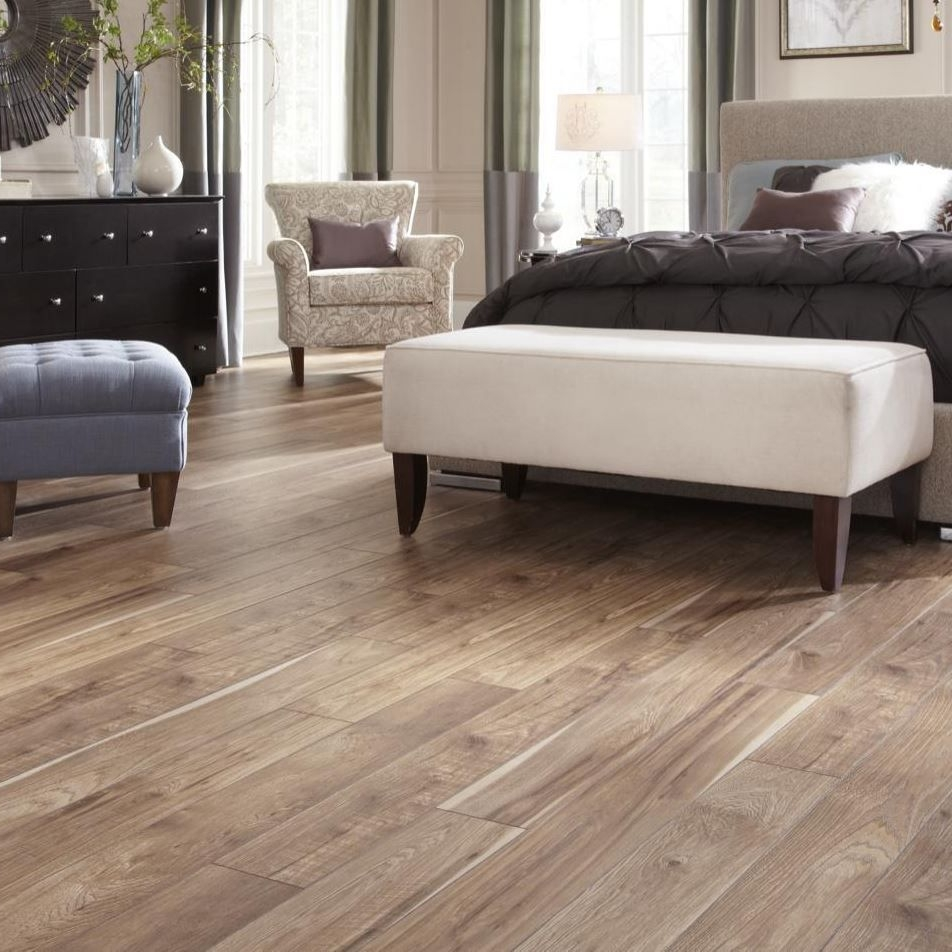 Vinyl - The fantastic looks of realistic Hardwood and Tile, with the durability and versatility that only vinyl can provide