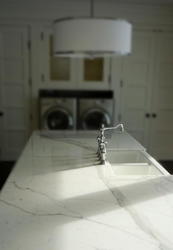Kitchen Carrara Marble counter top.jpg