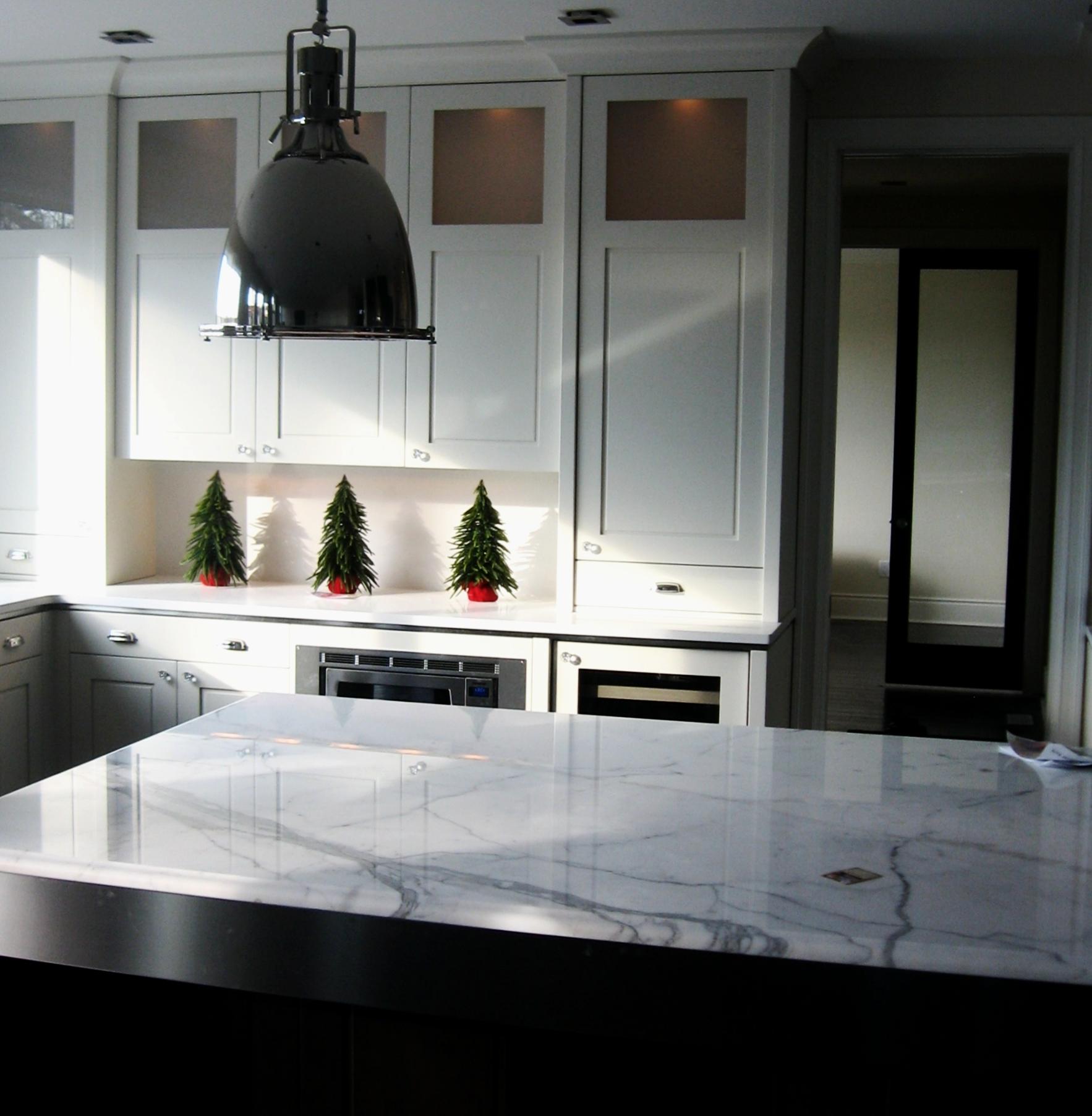 Kitchen Marble carrara countertop modern kitchen ideas inspiration.jpg