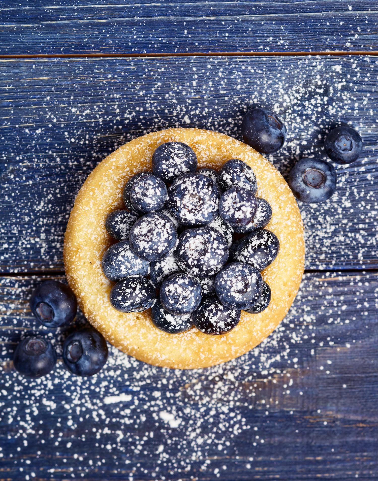 Blueberry Spongecake