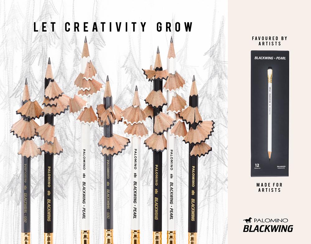 Blackwing Pencils Ad