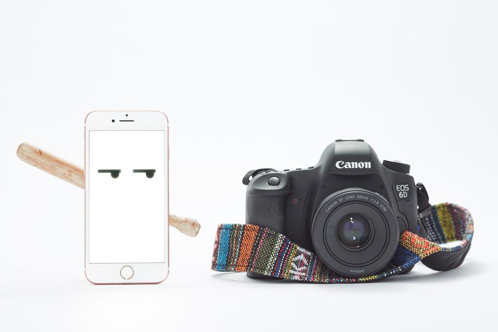 Phones vs DSLRs