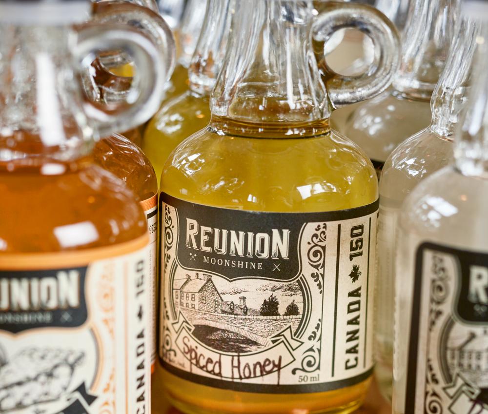 Spiced Honey Moonshine