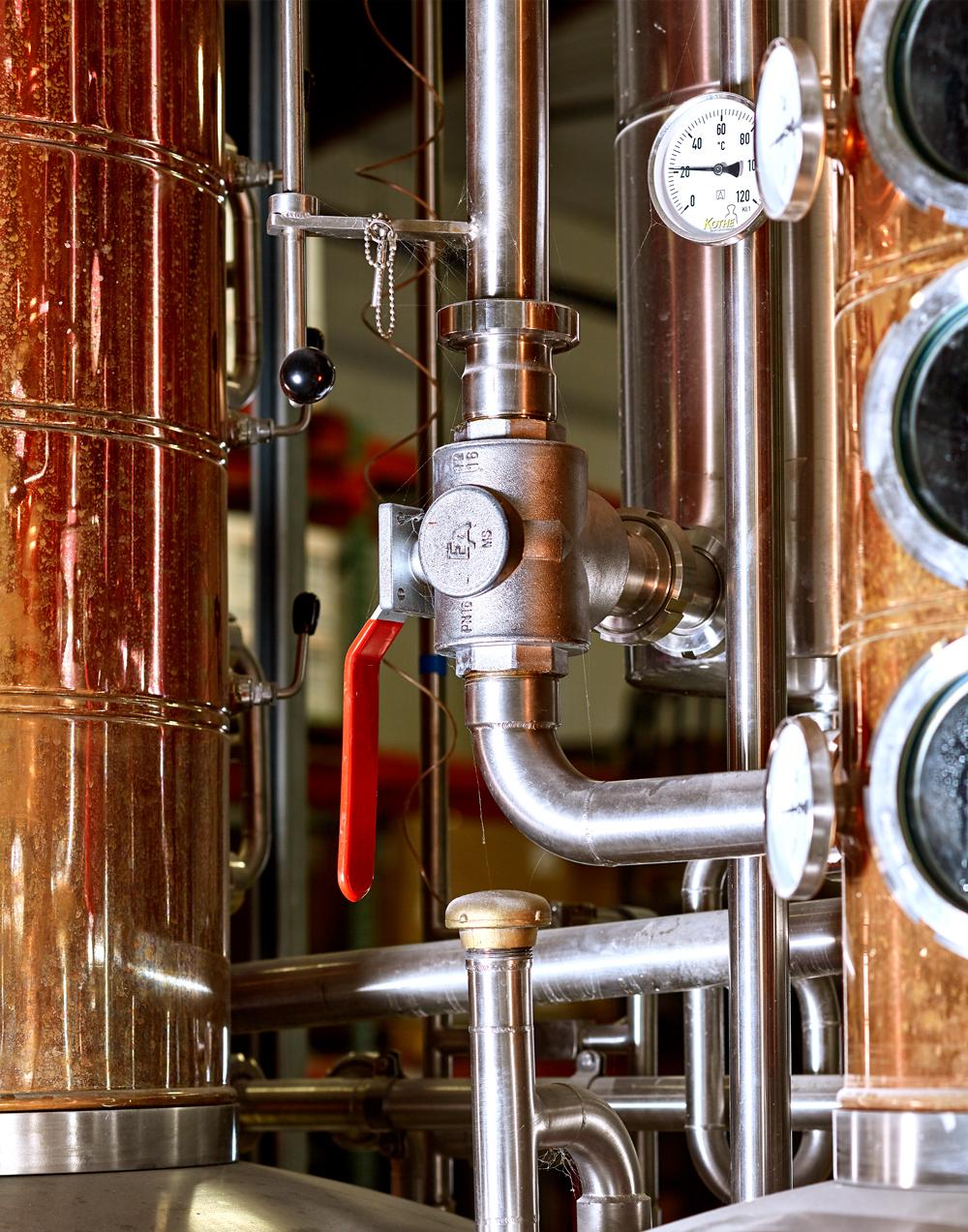 Distiller Pipes