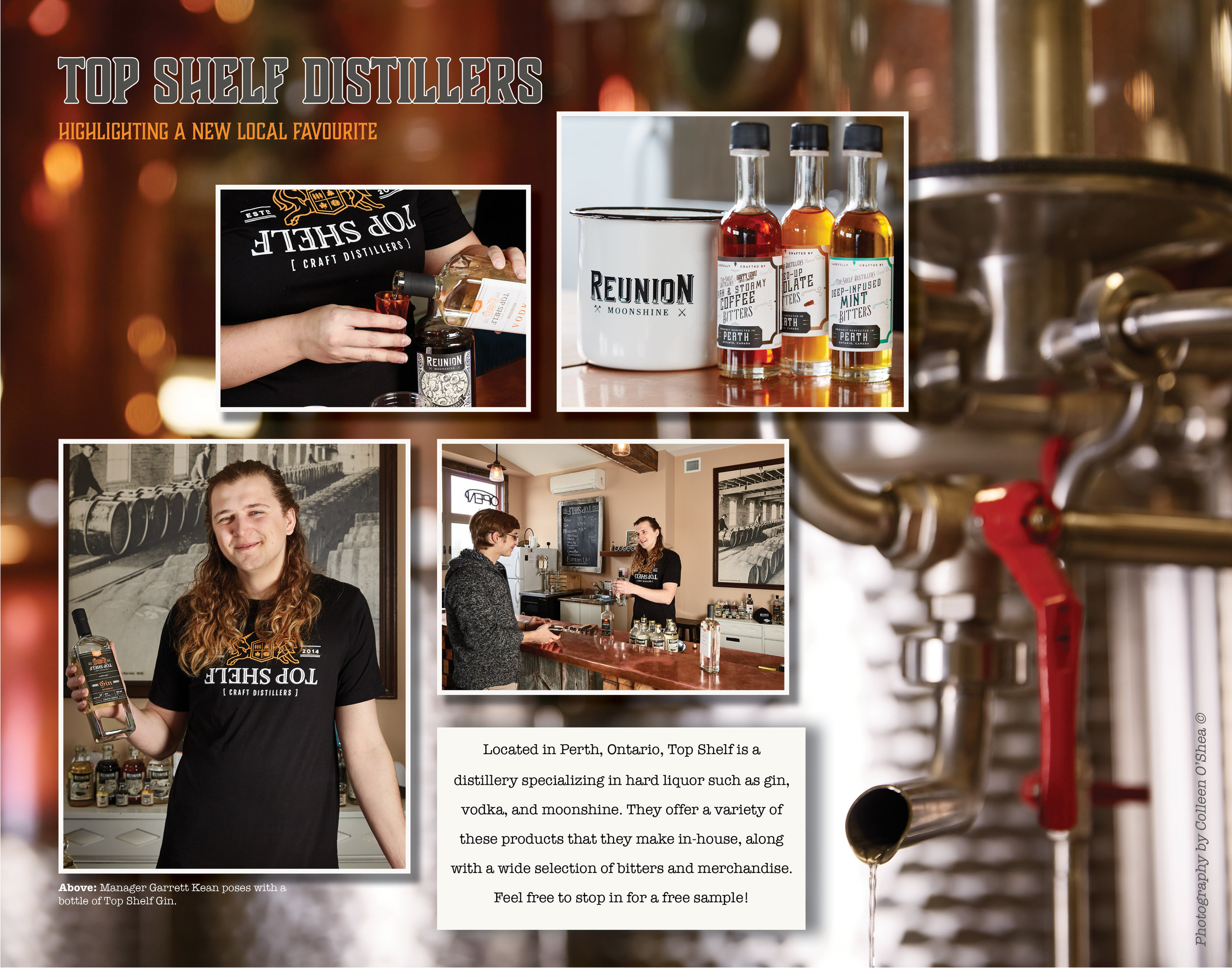 Lifestyle Assignment - Top Shelf Distillers