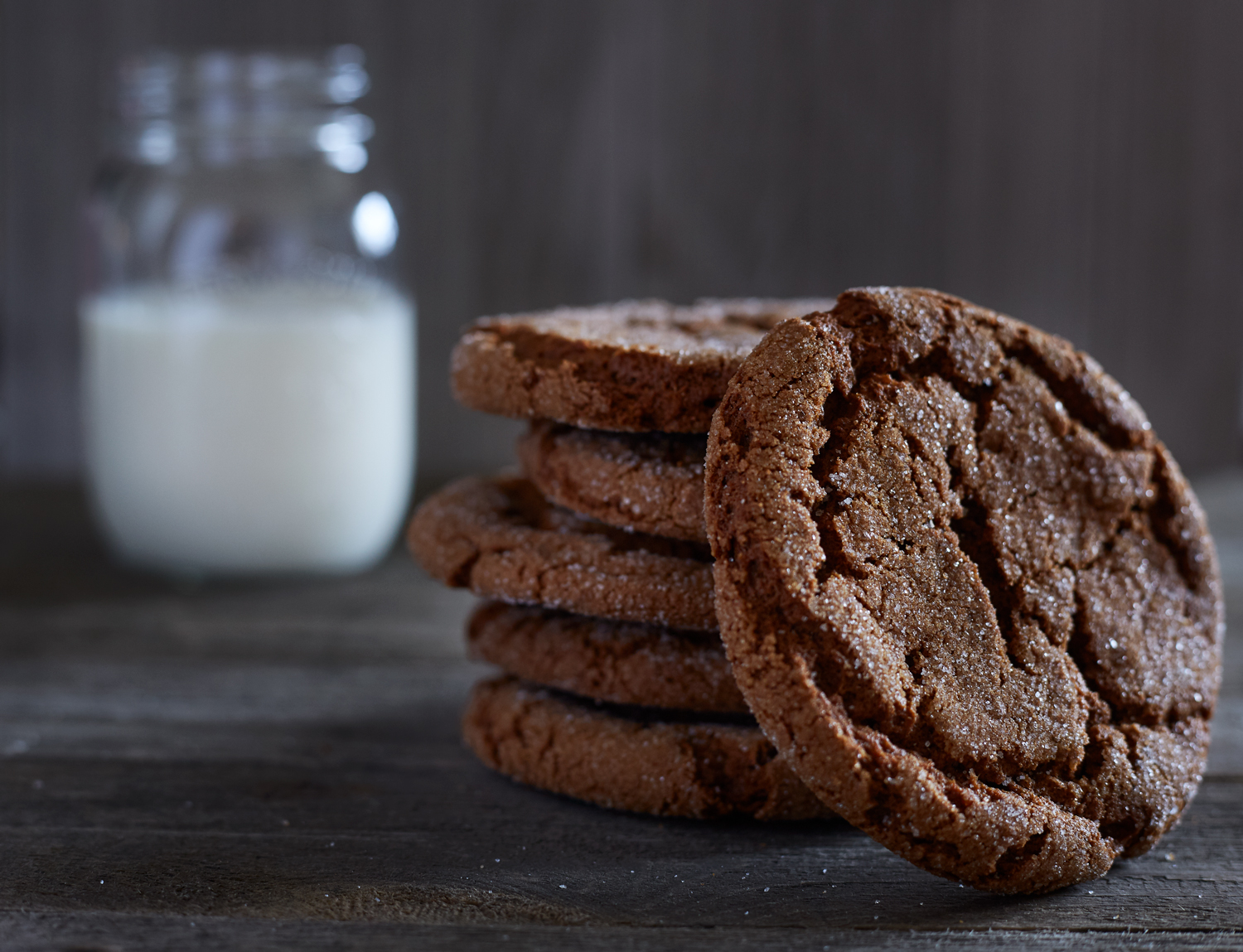 Ginger Cookies and Milk