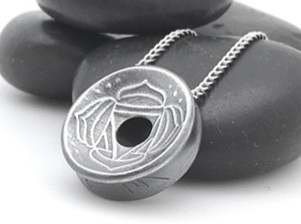 Works of art - Every pendant is individually handmade by artist, Margaret Graham, in fine silver (99.9% pure) or copper. The designs are limited editions and each one has an edition number and an 'm' inscribed in the edge.