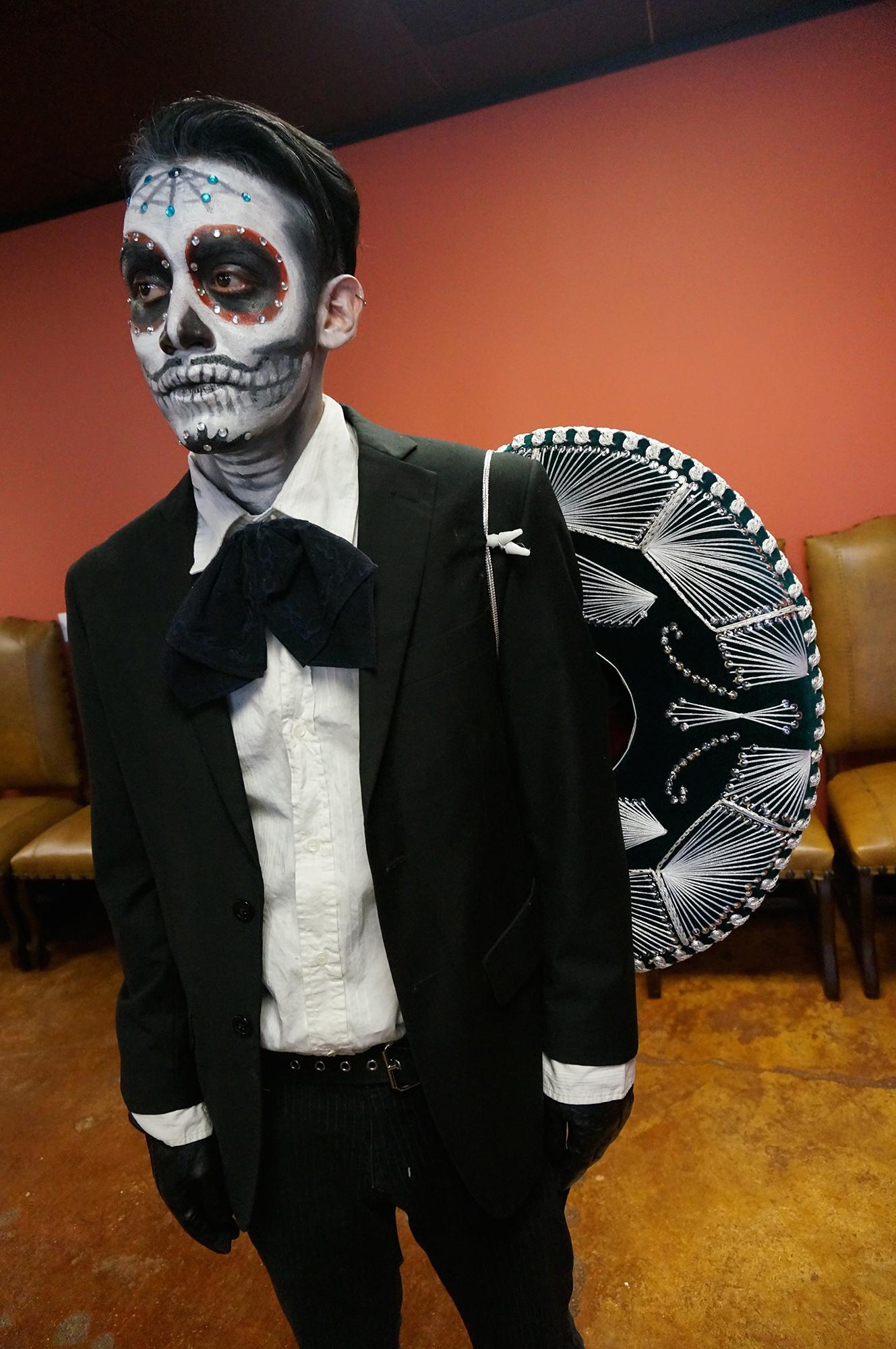 sugar skull man