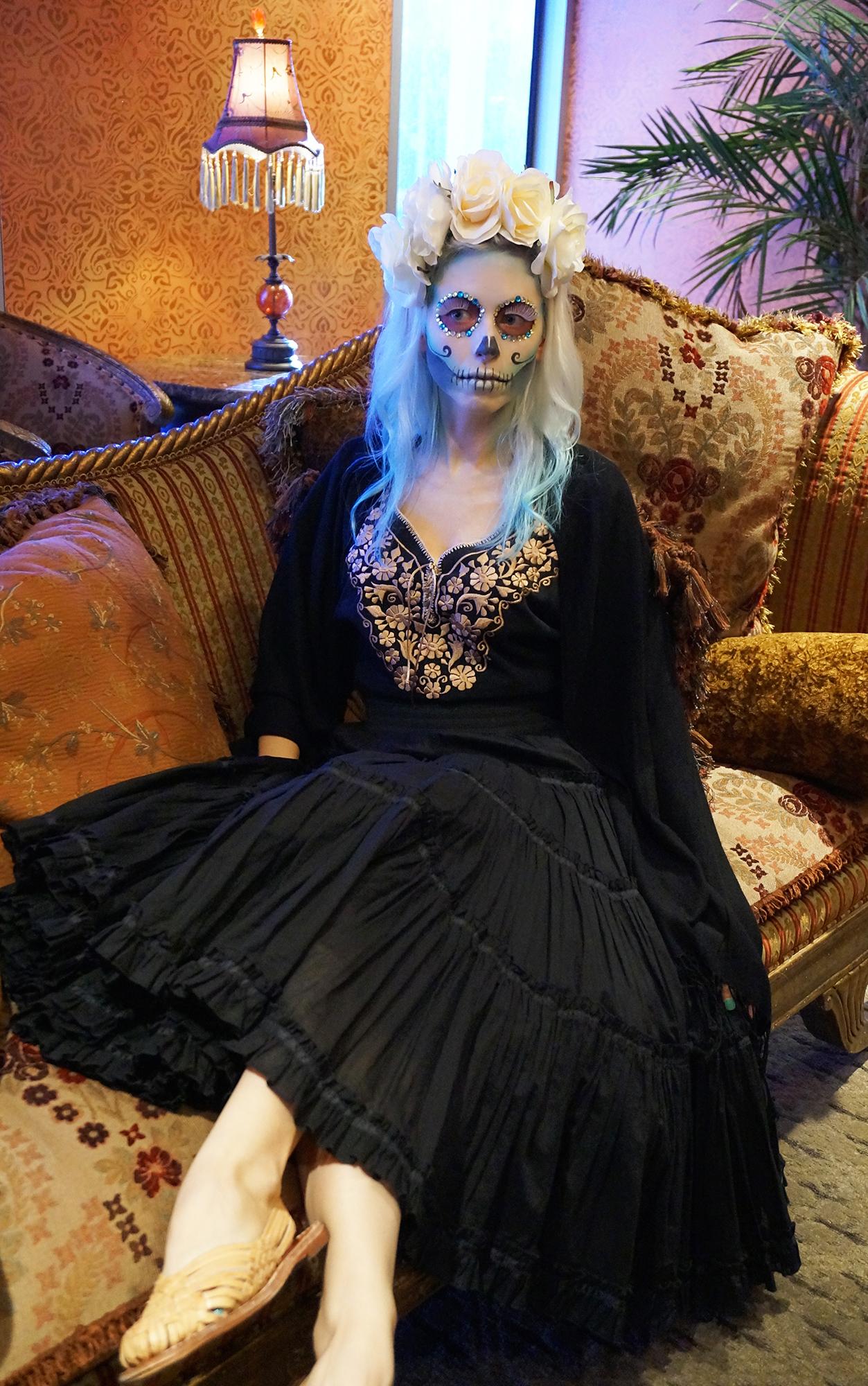 sugar skull full outfit