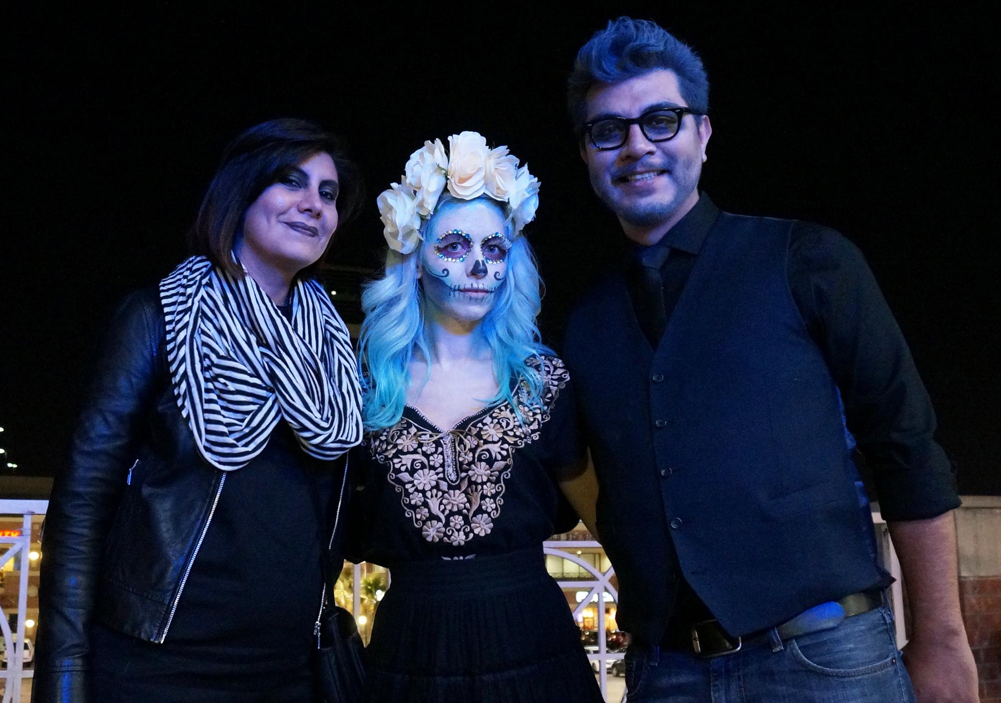 sugar skull halloween costume