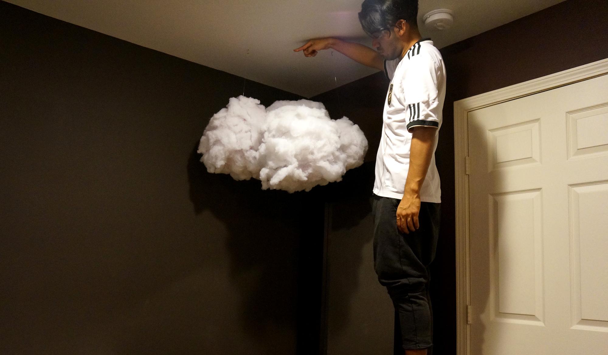 hanging cloud lanterns