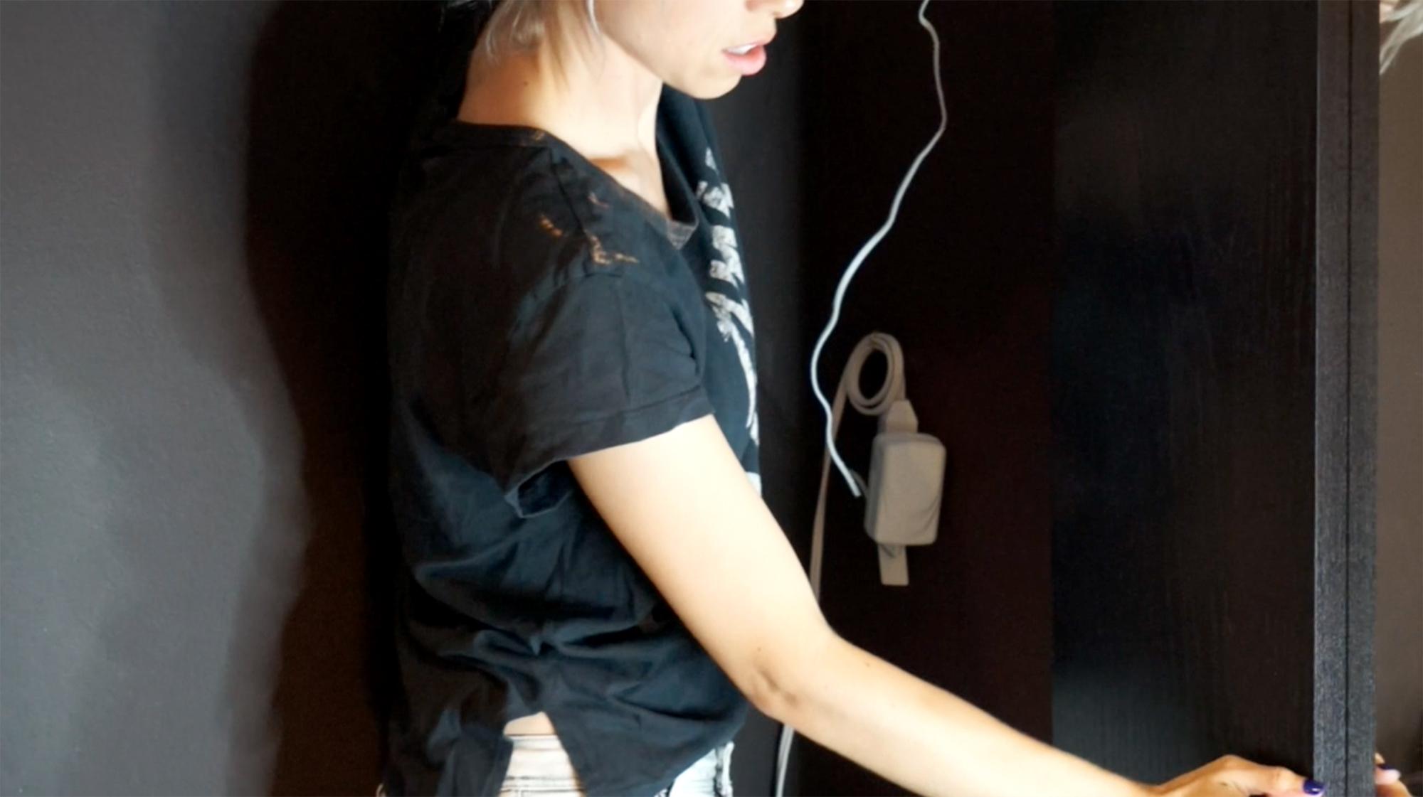 Hiding extension cord