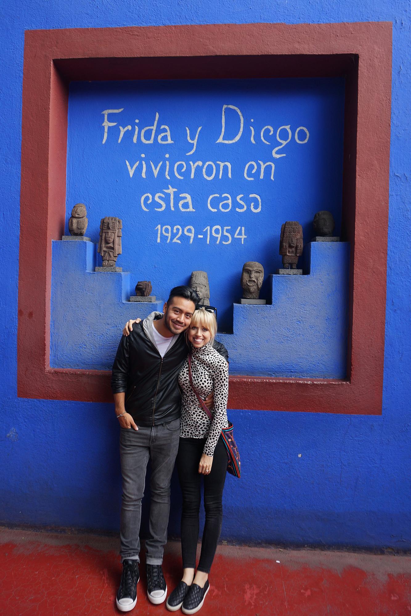Frida y Diego vivieron en esta casa