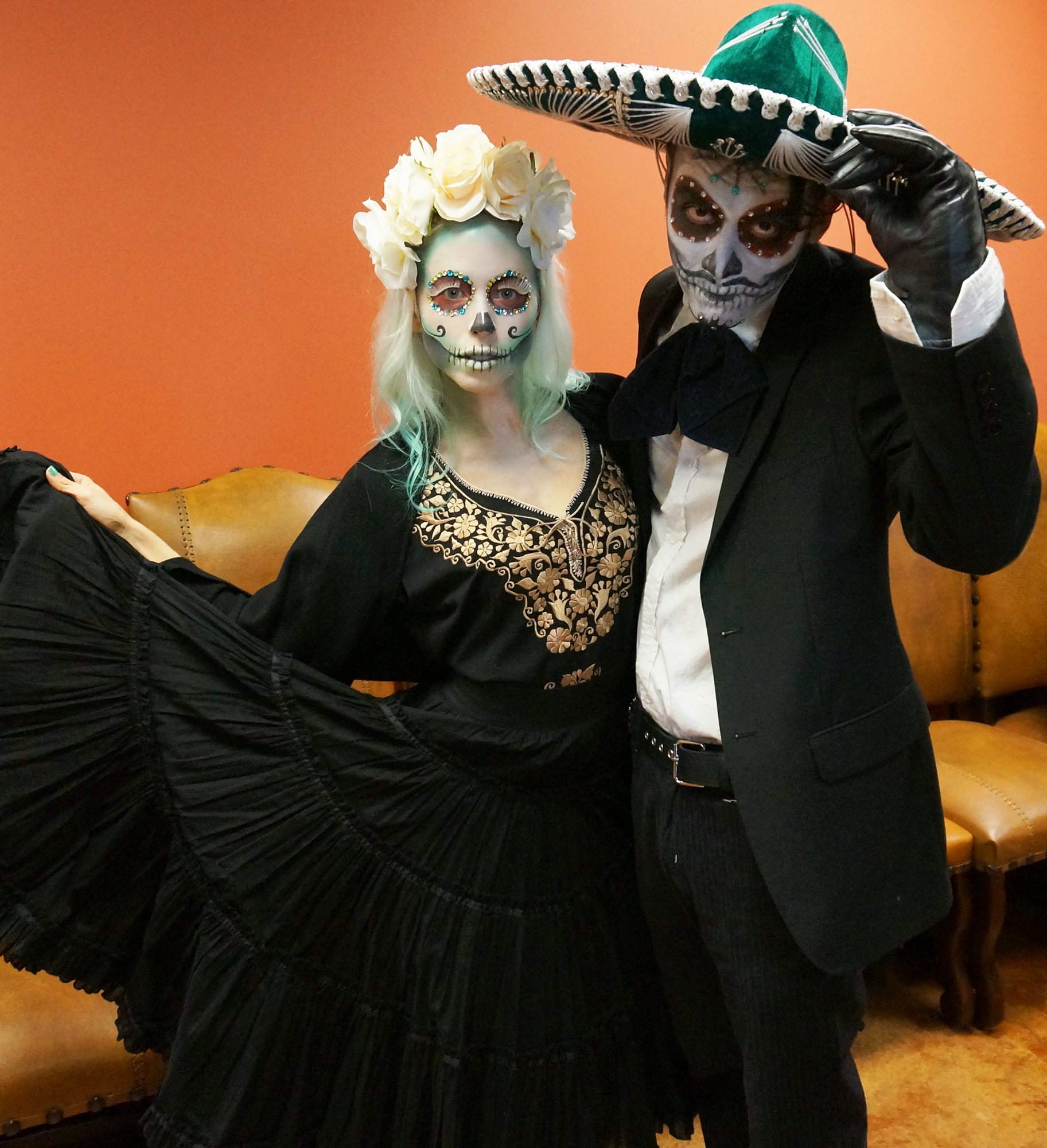 Sugar Skull for couples -