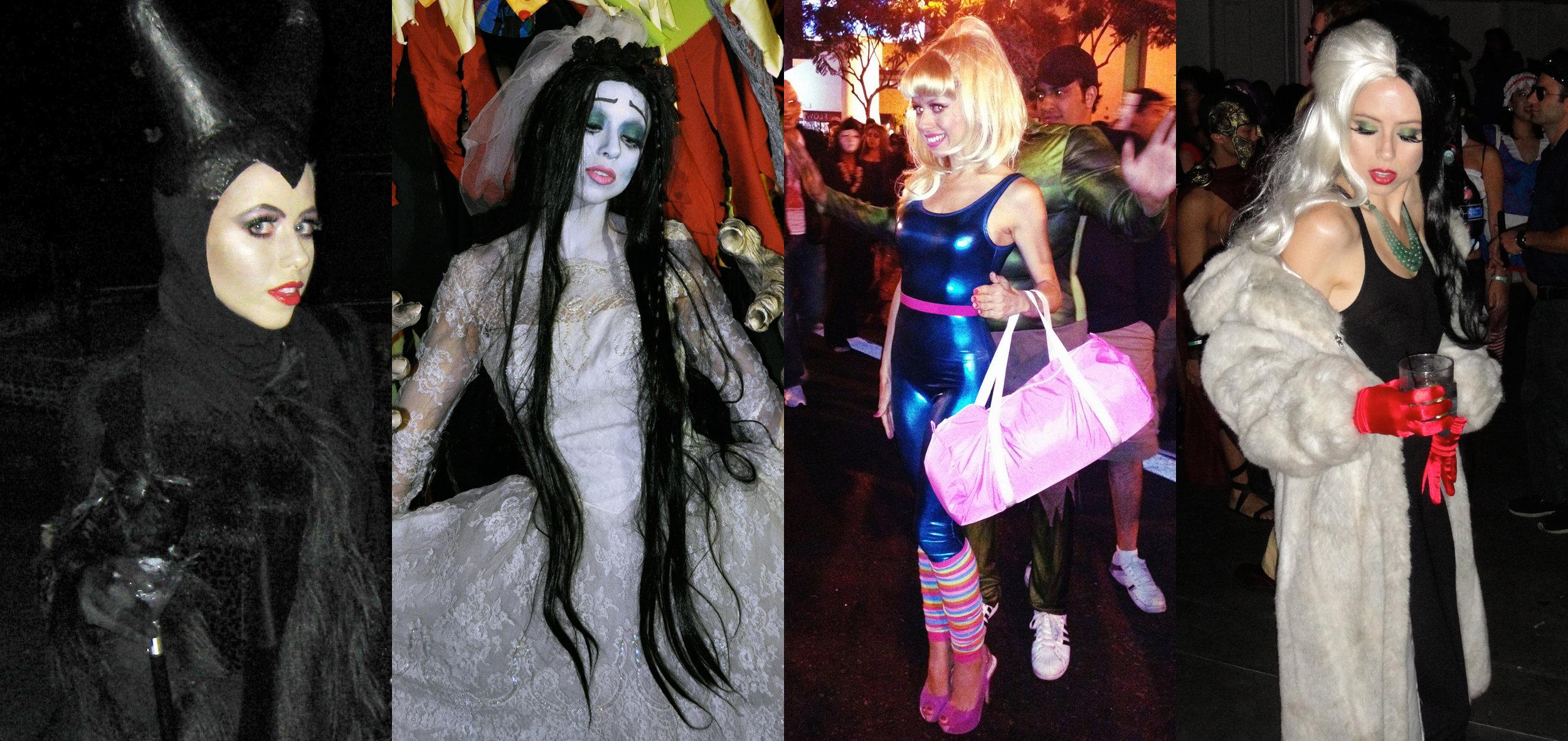 DIY costume lookbook -