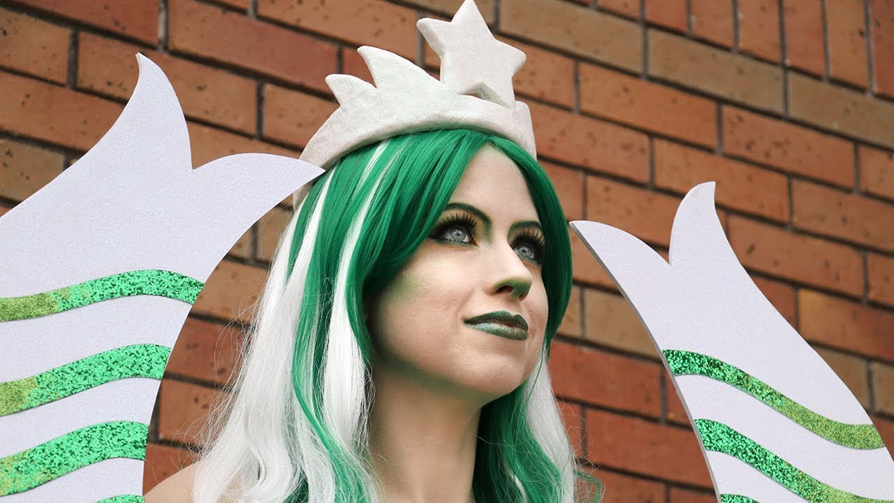 The mysterious starbucks mermaid -