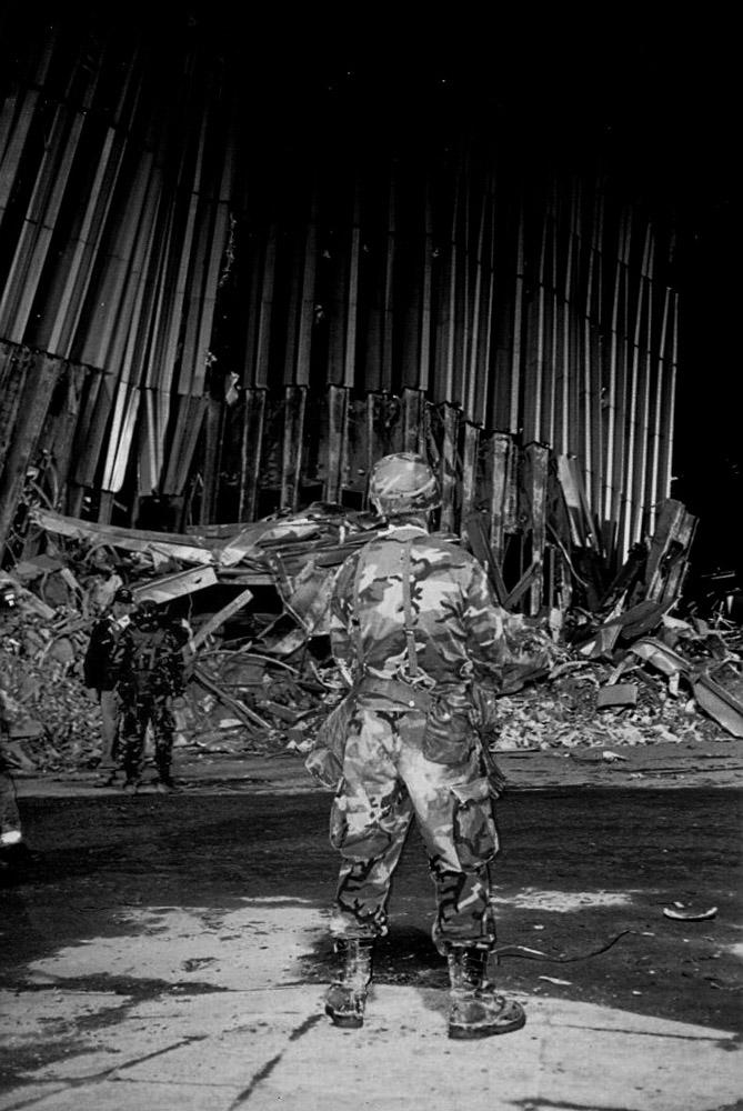 Ground Zero, NYC September 12, 2001,