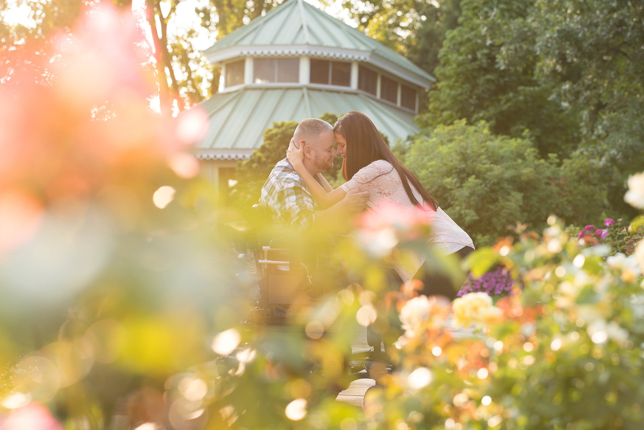 Green Bay Botanical Gardens Engagement Session 5.jpg