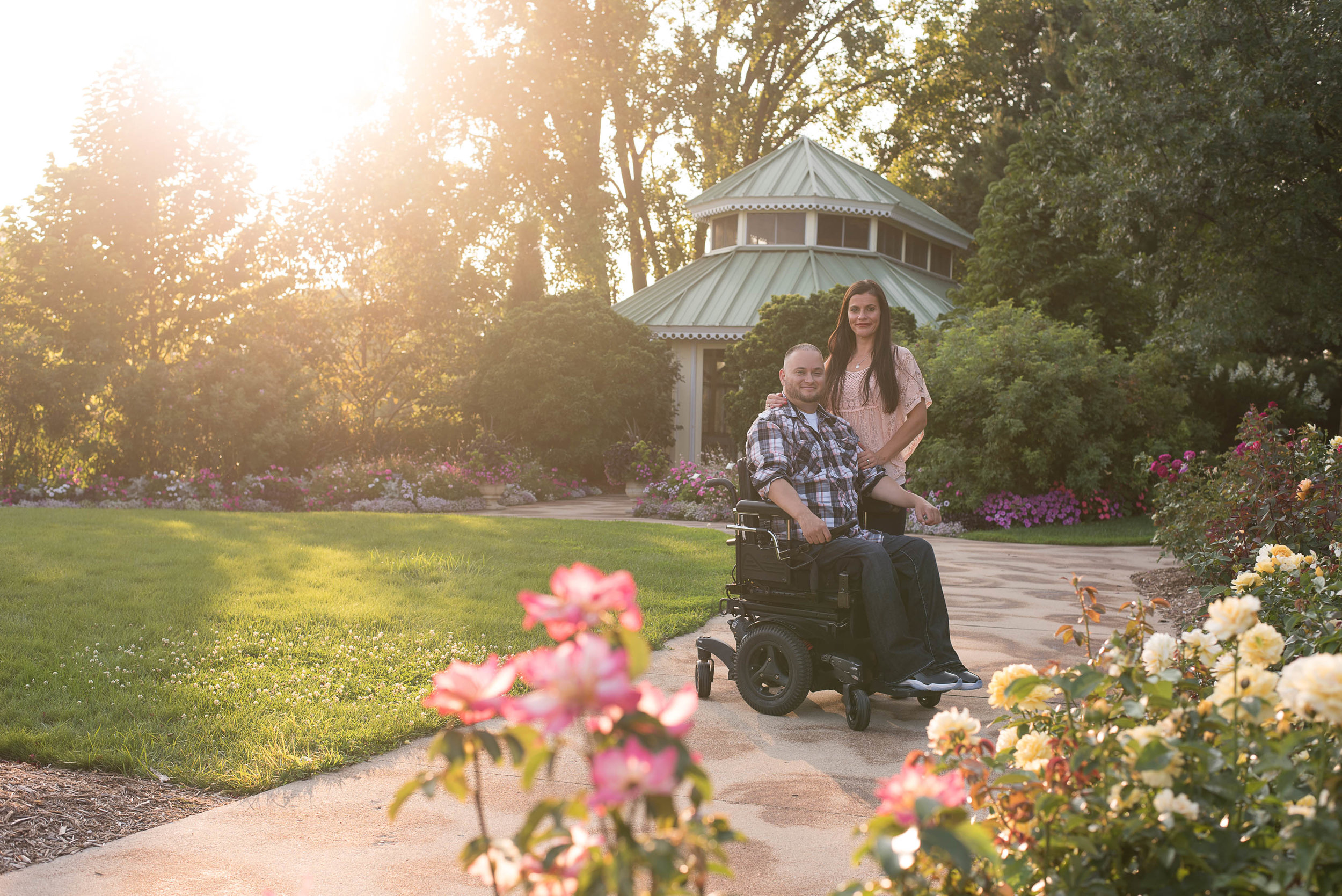 Green Bay Botanical Gardens Engagement Session 4.jpg