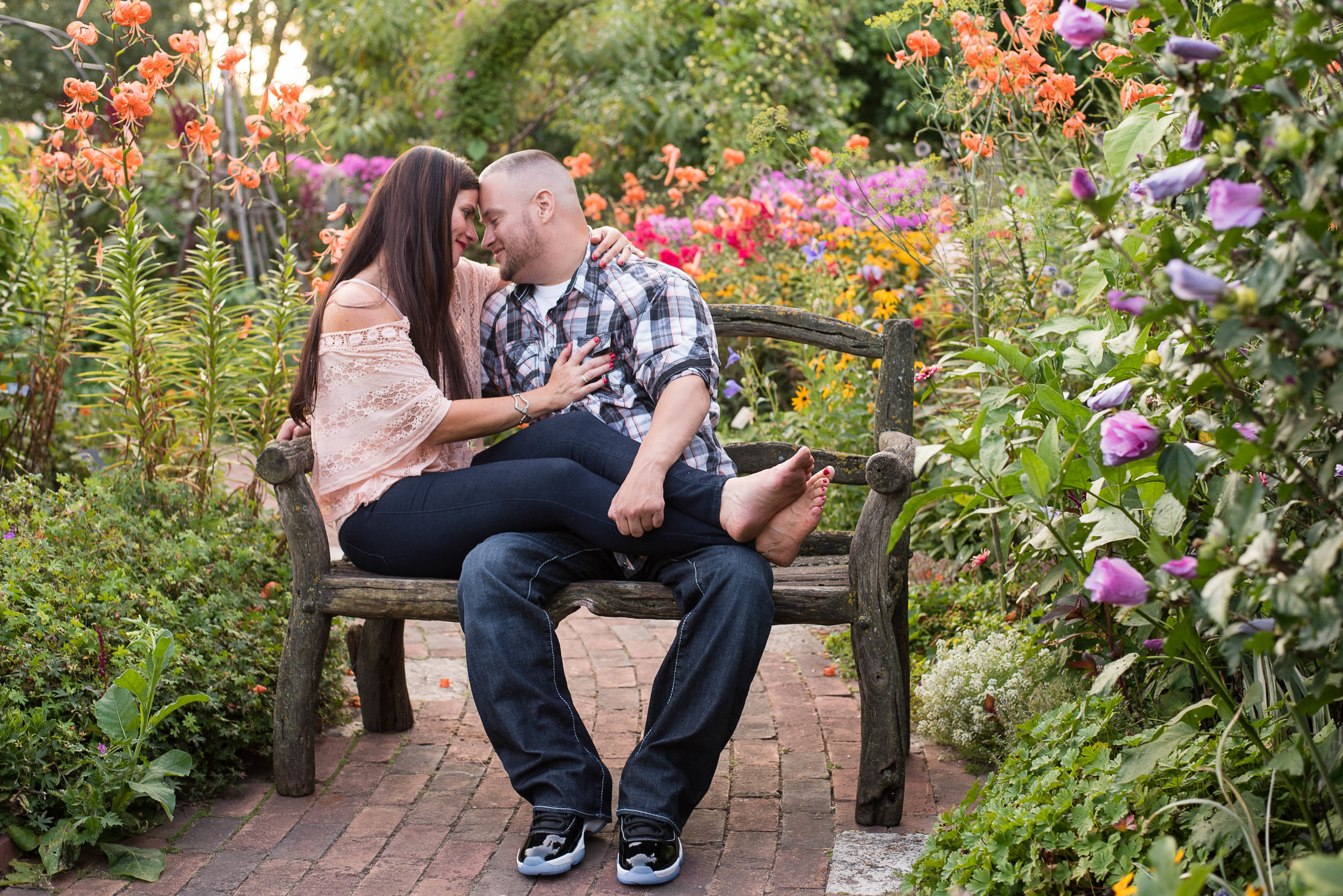 Green Bay Botanical Gardens Engagement Session 11.jpg