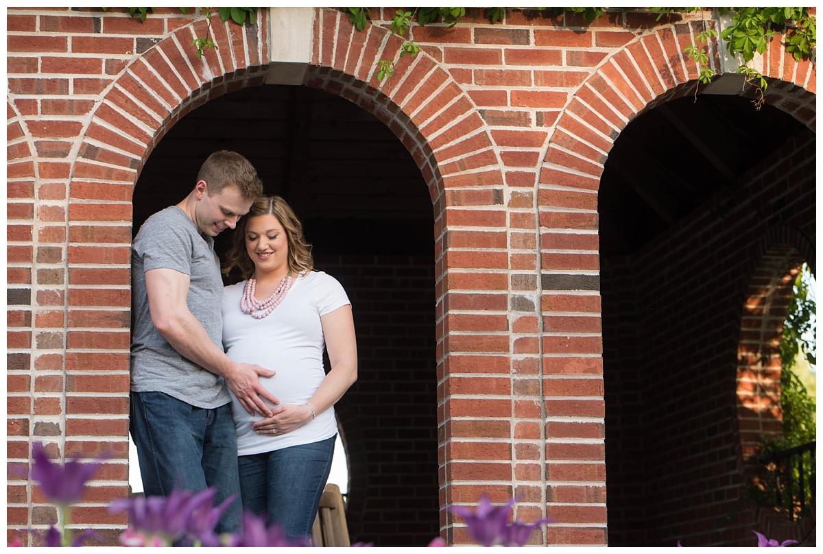 Green Bay Botanical Gardens Sunset Maternity Session_0014.jpg