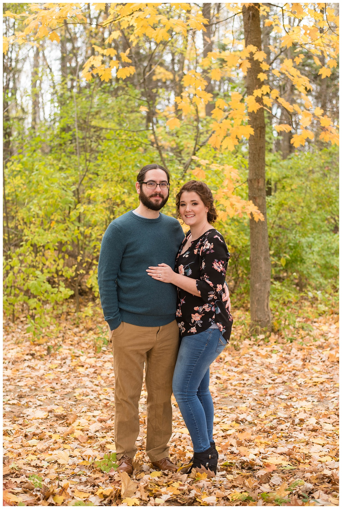 Green Bay, WI Fall Engagement Session_0008.jpg