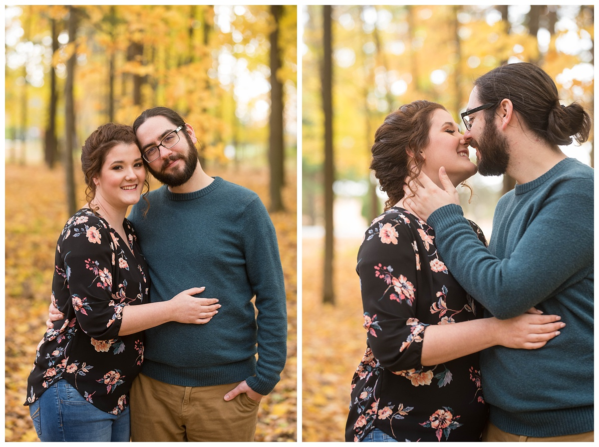 Green Bay, WI Fall Engagement Session_0011.jpg