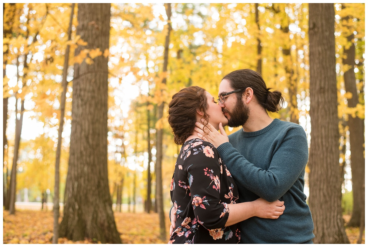 Green Bay, WI Fall Engagement Session_0012.jpg