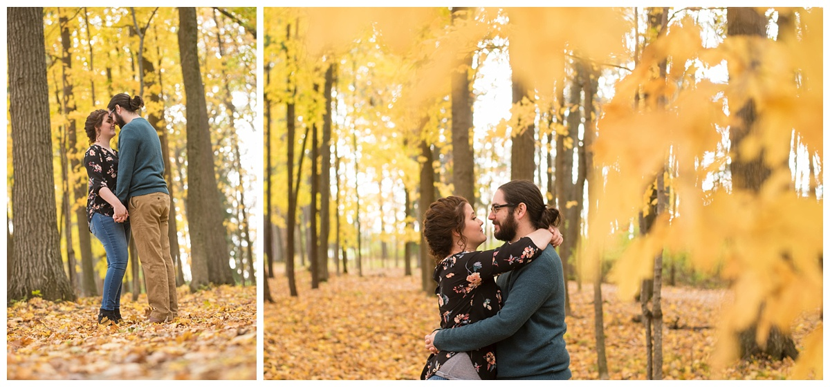 Green Bay, WI Fall Engagement Session_0013.jpg
