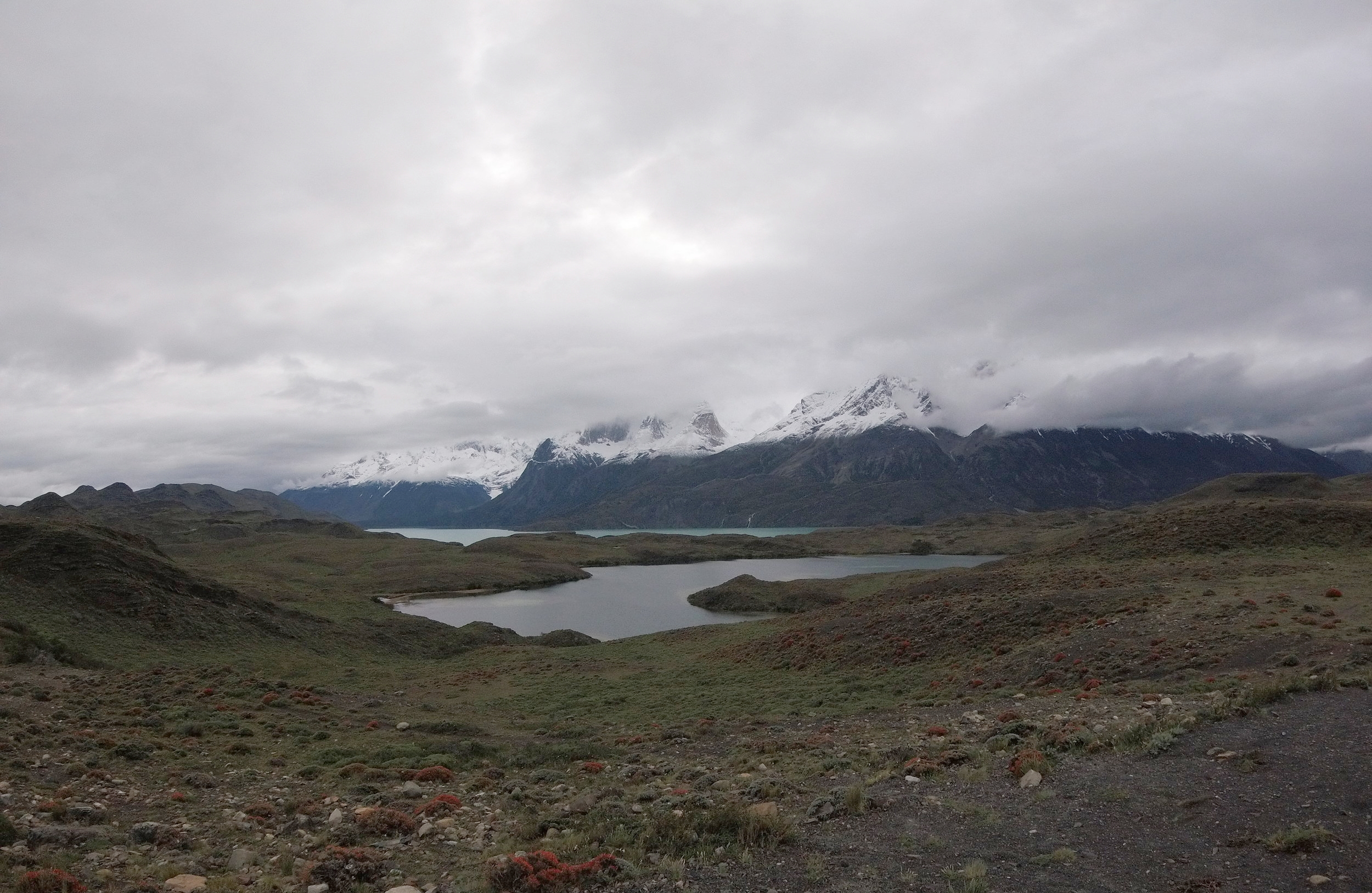 Even on a cloudy, rainy day Patagonia was gorgeous.