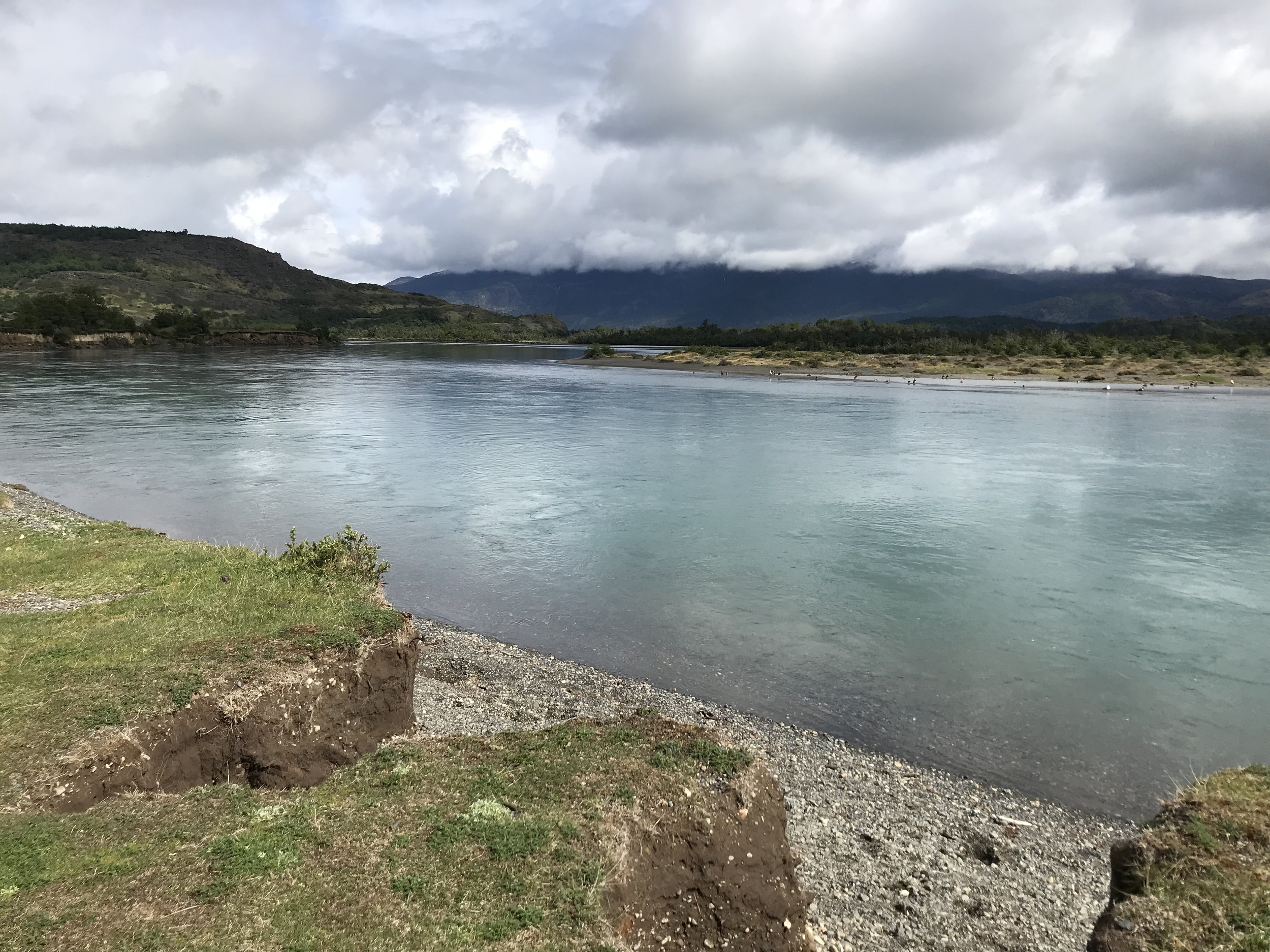 The spot where the Serrano River and the Grey River meet!