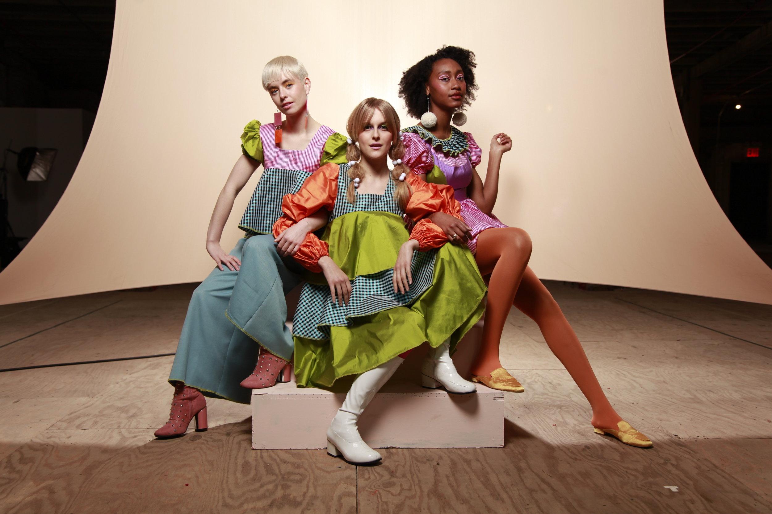 Models: Alexandra Dorschner, Anastasia Standrik, Danielle Mareka