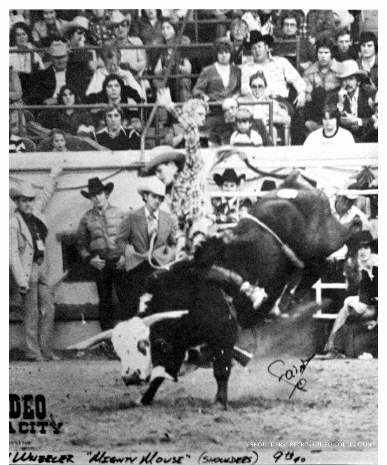Nicky Wheeler riding