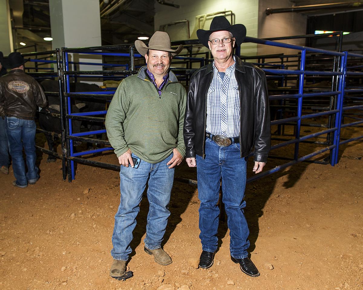 Jeff Harris and the late Nicky Wheeler