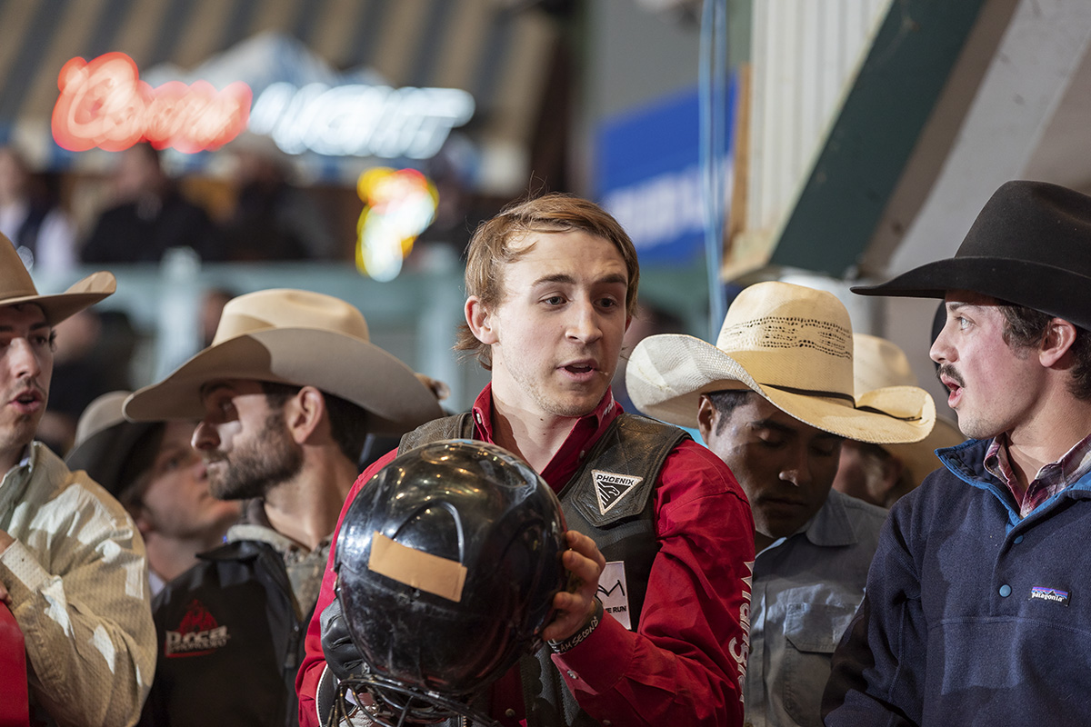 Trey Kimzey Returns to Huron as a seasoned bull rider