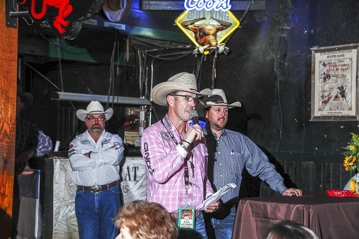 Rankin has been at Tuff Hedeman's side since 2010.