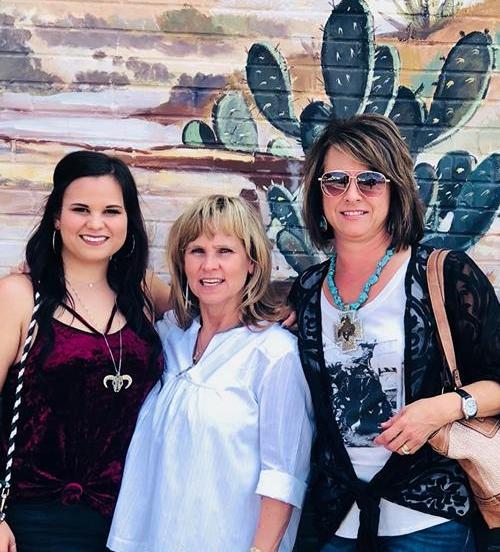 Lacee Harris, Beverly Wheeler, Susan Harris