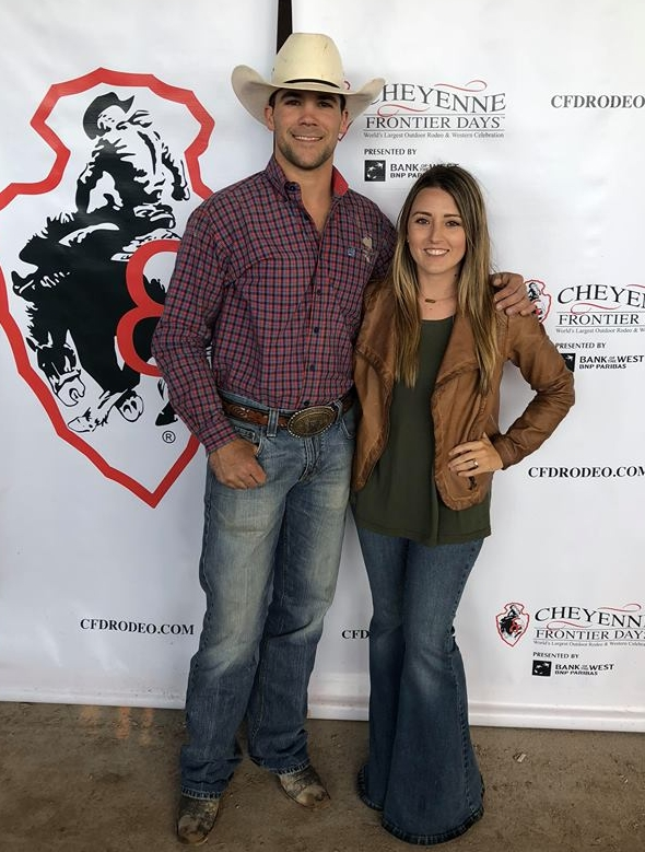 """""""After a rough last month of the 2018 season, I'm headed to my first NFR!! I just want to say thanks to my future wife @paige_futrell and to all my buddy's, also I owe a special thank you to my parents for letting me grow up to be a cowboy!! #thankful #blessed."""