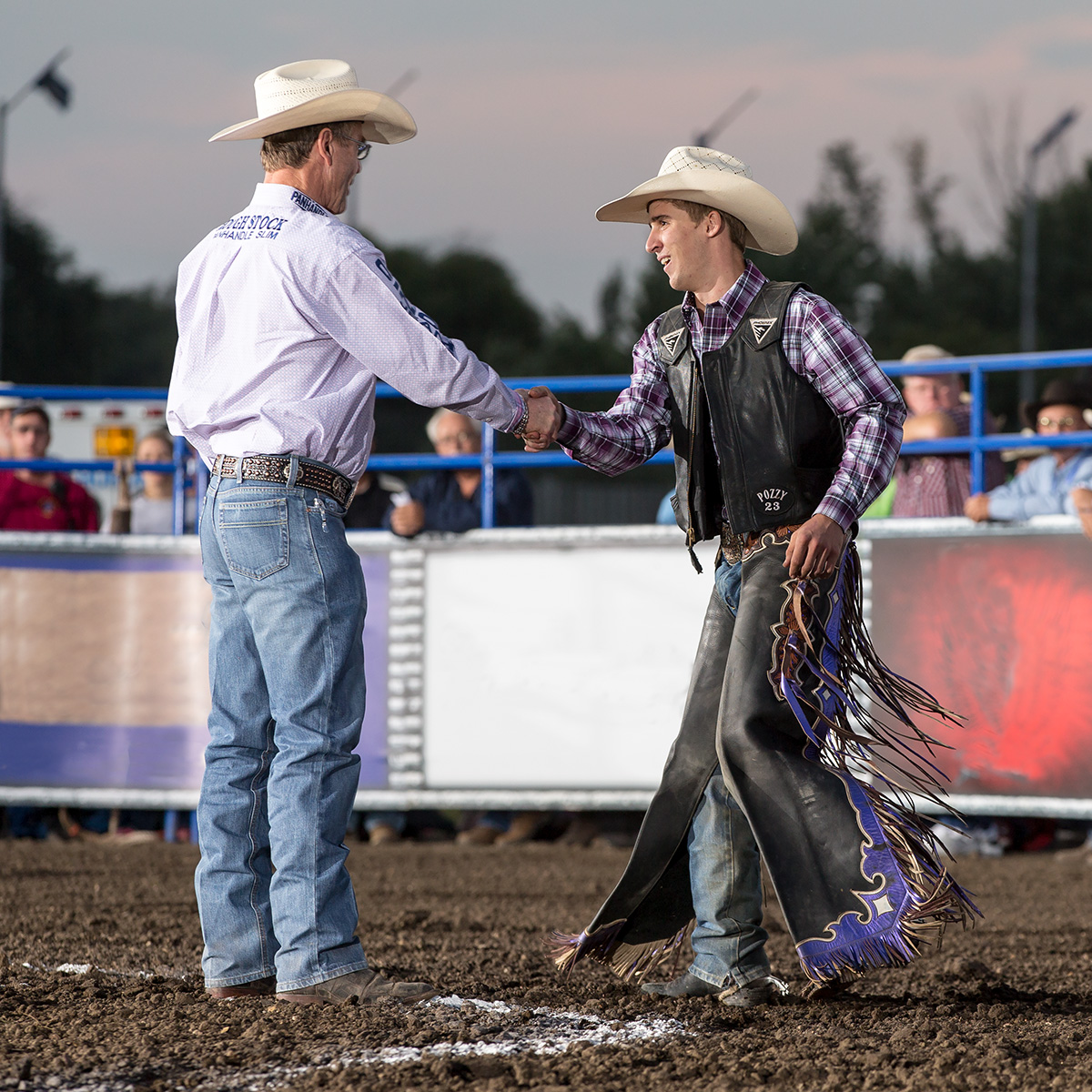Radley competed on the Tuff Hedeman Bull Riding Tour during his first successful NFR run.
